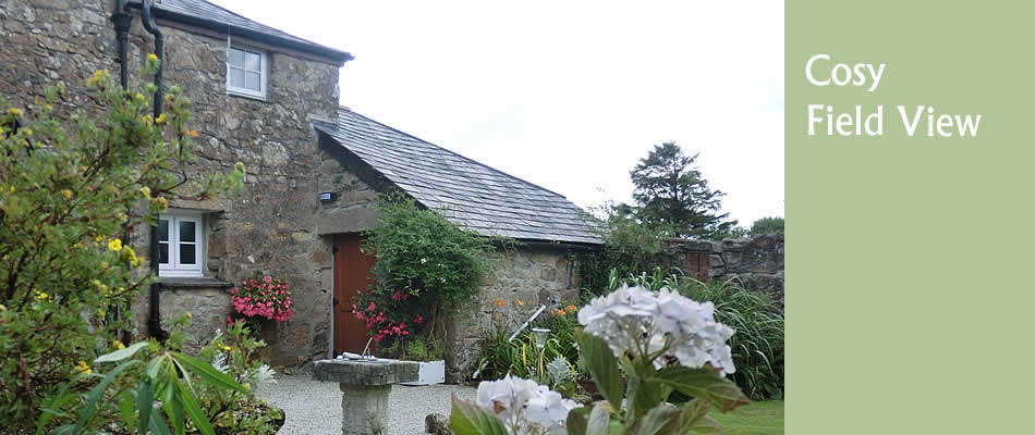 Field View, self catering holiday cottage in Cornwall